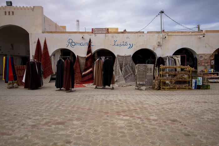 La piazza di Douz