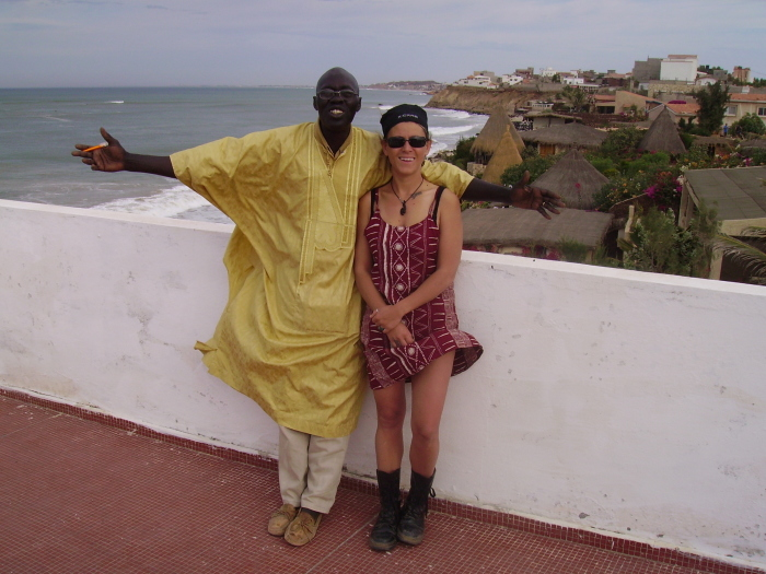 Toubab Dialau, a casa del poeta